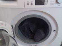 Frontlader Waschmaschine geöffnet